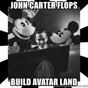 Sinister Walt - JOHN CARTER FLOPS BUILD AVATAR LAND