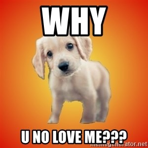 Perrito Chorizo - why u no love me???