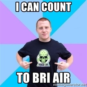 Pro Scooter Rider - i can count to BRI AIR