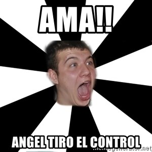 Typical alko-chess player - ama!! angel tiro el control