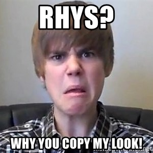 Justin Bieber 213 - RHYS? WHY YOU COPY MY LOOK!