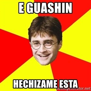 cheeky harry potter - e guashin hechizame esta