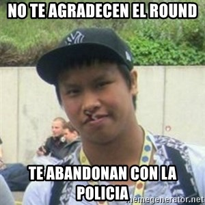 Good Guy Reginald - no te agradecen el round te abandonan con la policia