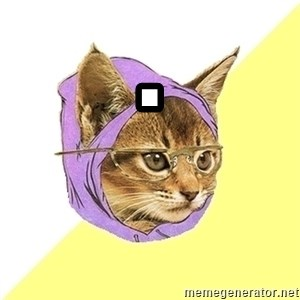Hipster Cat - .