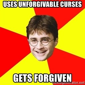cheeky harry potter - Uses unforgivAble curses gets forgiven