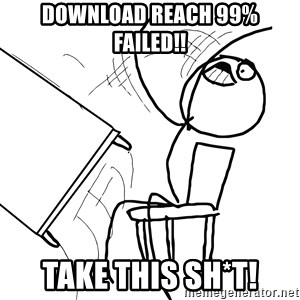 Desk Flip Rage Guy - download reach 99% failed!! Take this sh*t!