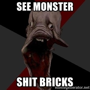 Amnesiaralph - SEE MONSTER SHIT BRICKS