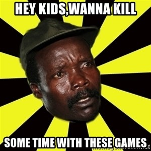 KONY THE PIMP - Hey kids,wanna kill some time with these games