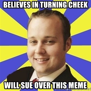 Smuggar - Believes in Turning Cheek Will sue over this meme
