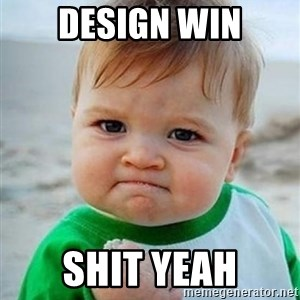 victory kid - Design win Shit yeah
