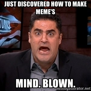 Angry Cenk - just discovered how to make meme's mind. blown.