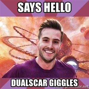 Ridiculously Photogenic Sacrosanct - Says hello dualscar giggles