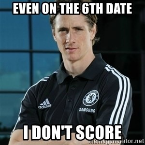 TorresFernando - Even on the 6th date I don't score
