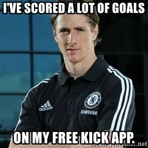 TorresFernando - i've scored a lot of goals on my free kick app.