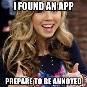 sucess sam puckett - I FOUND AN APP Prepare to be annoyed