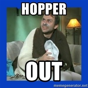 Charlie Day - hopper out
