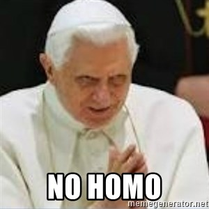 Pedo Pope - No homo