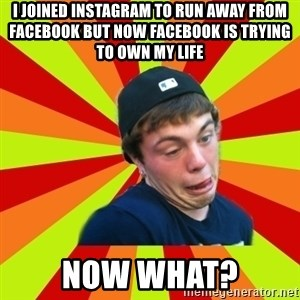 Jake the Rake - I joined instagram to run away from facebook but now facebook is trying to own my life Now what?