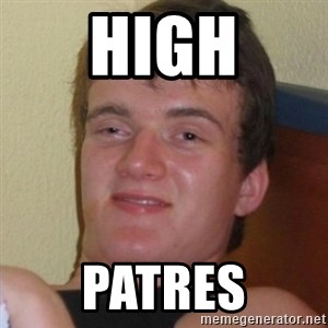 Really highguy - HIGH patres