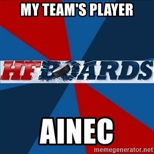 HFboards  - My team's player AInec