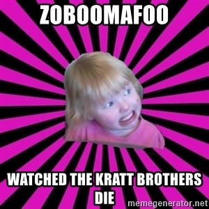 Crazy Toddler - zoboomafoo watched the kratt brothers die