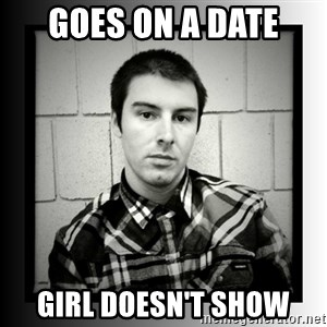 Bad Luck Larry - Goes on a date Girl doesn't show