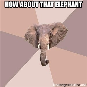 fat Elephant - how about that elephant