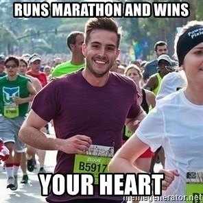 Ridiculously photogenic guy (Zeddie) - RUNS MARATHON AND WINS YOUR HEART