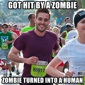 Ridiculously photogenic guy (Zeddie) - got hıt by a zombıe zombıe turned ınto a human