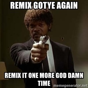 Jules Pulp Fiction - remix gotye again remix it one more god damn time