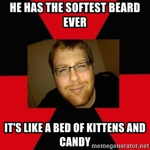 Jesse Cox - He has the softest beard ever it's like a bed of kittens and candy