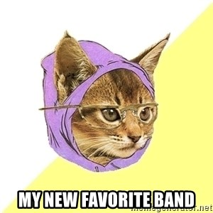Hipster Kitty - my new favorite band
