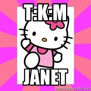 Hello Kitty - T:K:M Janet