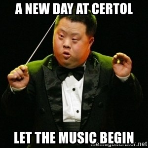 DownSyndrome - A new day at certol Let the music begin