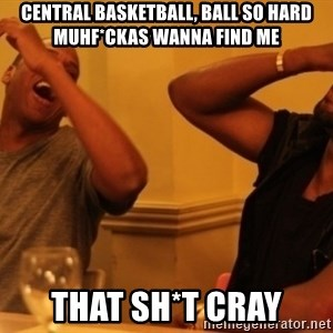 Kanye and Jay - central basketball, ball so hard muhf*ckas wanna find me that SH*t cray