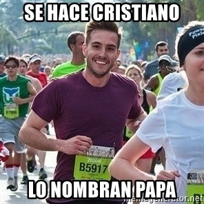 Ridiculously photogenic guy (Zeddie) - se hace cristiano lo nombran papa