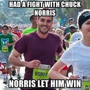 Ridiculously photogenic guy (Zeddie) - Had A Fight With Chuck Norris Norris Let Him Win