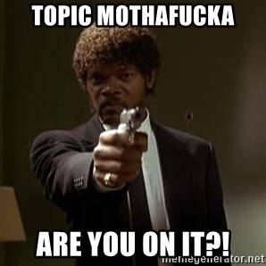 Jules Pulp Fiction - topic mothafucka are you on it?!