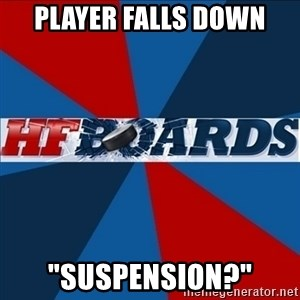 """HFboards  - PLAYER FALLS DOWN """"SUSPENSion?"""""""