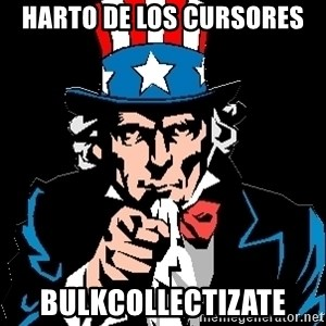 I Want You - HARTO DE LOS CURSORES BulKCOLLECTIZATE