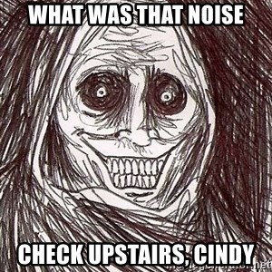Shadowlurker - WHAT WAS THAT NOISE CHECK UPSTAIRS, CINDY