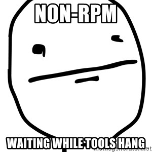 Real Pokerface - Non-rpm waiting while tools hang