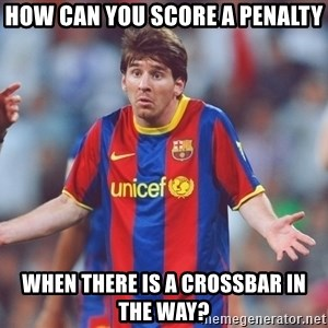 Messi 3 - How CAN YOU SCORE A PENALTY WHEN THERE IS A CROSSBAR IN THE WAY?