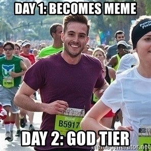 Ridiculously photogenic guy (Zeddie) - Day 1: Becomes meme Day 2: god tier
