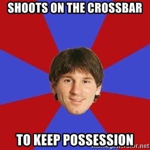 Messiya - SHOOTS ON THE CROSSBAR TO KEEP POSSESSION