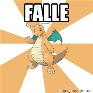 Dragonite Dad - falle