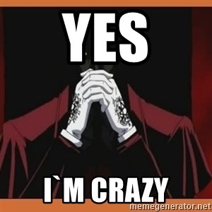Alucard-king of undeads - yes i`m crazy
