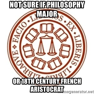 Johnnie Memes - not sure if philosophy major or 18th century french aristocrat