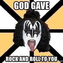 allseeing_kiss - god gave rock and roll to you