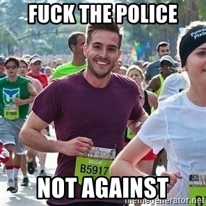 Ridiculously photogenic guy (Zeddie) - fuck the police not Against